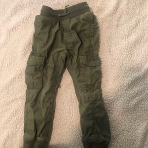 Jersey lined cargo pants-Gap